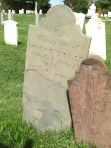 Gideon Tyler Tombstone in North Street Cemetery