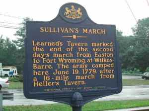 Pennsylvania Historical Marker-The Learn Massacre