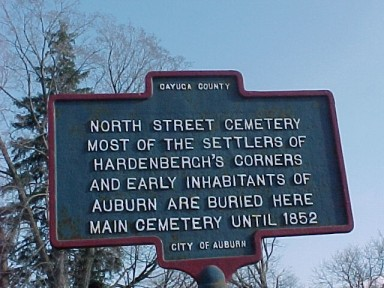 North Street Cemetery NYS Historical Marker