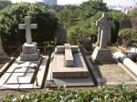 Graves of Stuart and Frances Eldridge Yokohama Japan