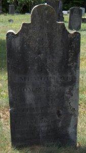 Silence Bartlett and Thomas Hubbart monument  Gravesville Cemetery Herkimer New York