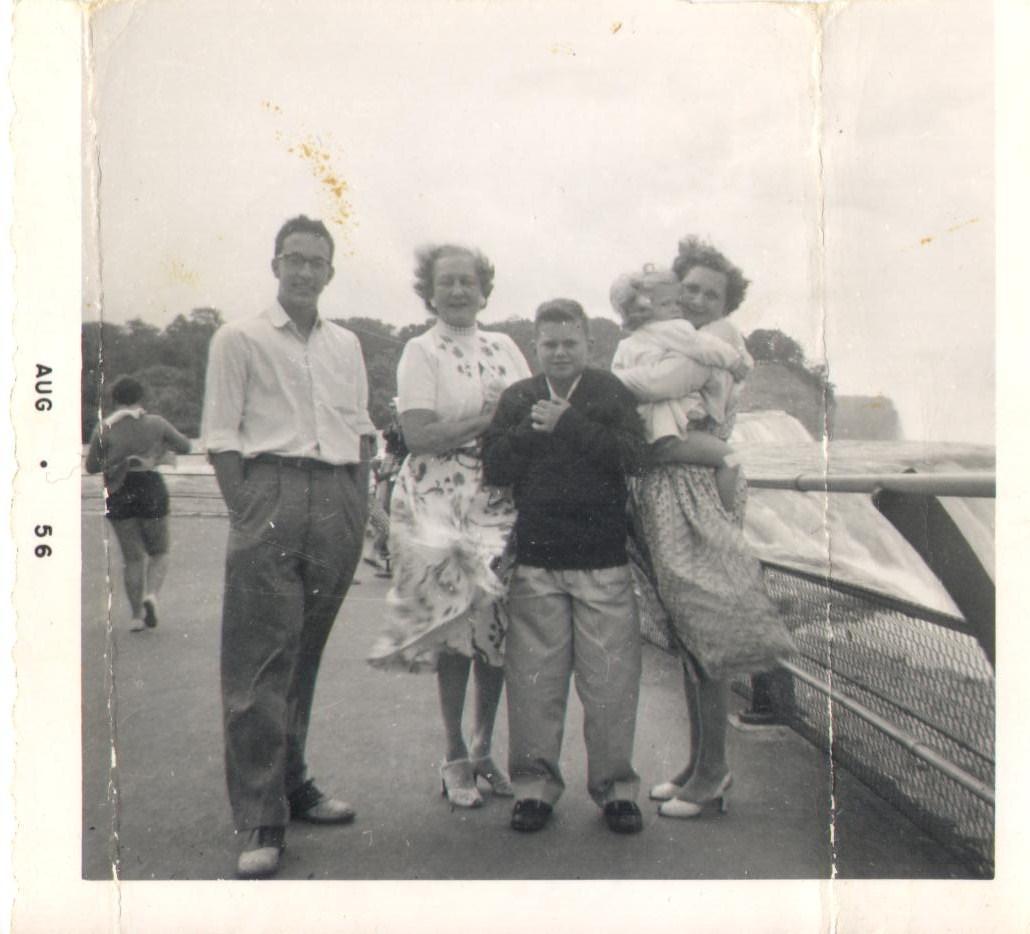 Niagara Falls 1956