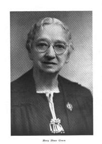 Mary Shaw Green
