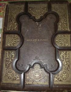 Elbert Purdy and Elizabeth A Williams Matrimonial Bible