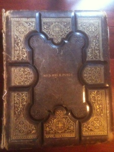 Family Bible Front Cover