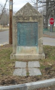 John Cary Cenotaph in Ashmont cemetery