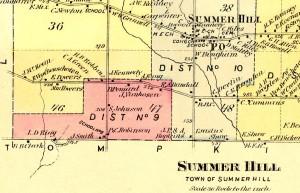 1875 Summerhill Map