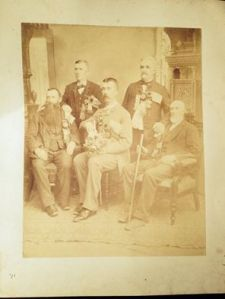 Order of Sons of St. George, General Gordon Lodge, Auburn, New York.  Circa 1896