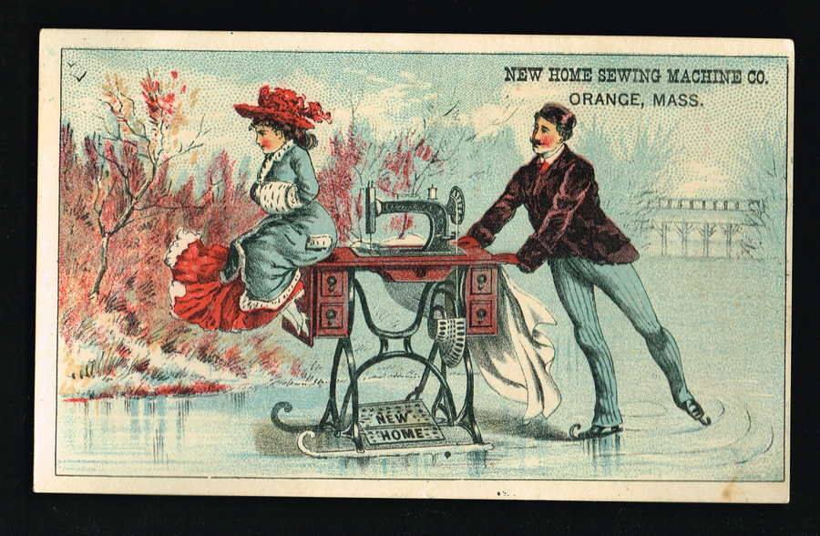 Victorian Trading Card – Notable Characters