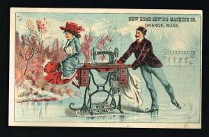 A S Martin Victorian Business Card Front