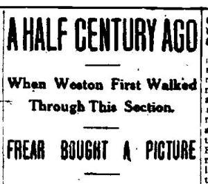 Newspaper Auburn NY  Democrat  Argus 1912 - 1913 - 1243. WSL Frear Headline