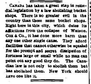 Newspaper Auburn NY Weekly Democrat 31 May 1888 Watson Cox destroyed Auburns economy