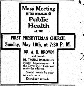 Newspaper Auburn NY Citizen 9 May 1908 Water Board Talks