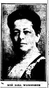 Sara Wadsworth 1916